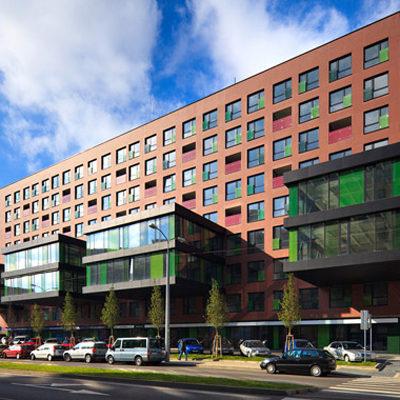 Projekt bytov a kancelárií Viktória - Ružinov