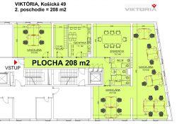 PO Viktoria 2p.- pôdorys 208m2